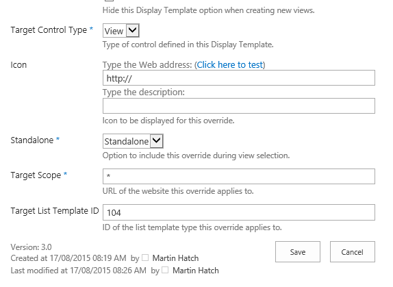 jslink and display templates part 6 creating view templates and